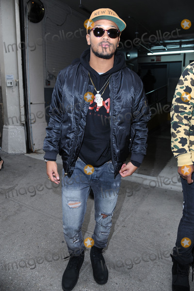 Romeo Miller Photo - January 7 2016 New York CityRomeo Miller made an appearance at HuffPost Live on January 7 2016 in New York CityCredit Kristin CallahanACE Tel 646 769 0430