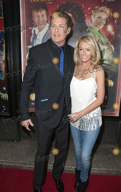 Hayley Roberts Photo - December 12 2012 ManchesterDavid Hasselhoff and Hayley Roberts at the press night for Peter Pan at the Manchester Opera House on December 12 2012 in Manchester
