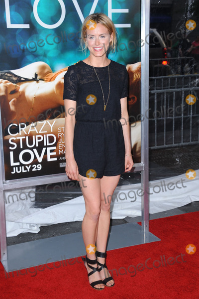 Taylor Schillng Photo - Taylor Schilling attends the Crazy Stupid Love World Premiere at the Ziegfeld Theater on July 19 2011 in New York City