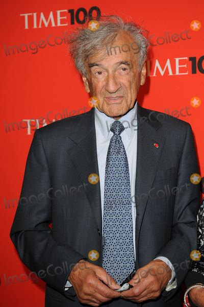 Elie Wiesel Photo - Writer Elie Wiesel arriving at Times 100 most influential people in the world gala at Frederick P Rose Hall Jazz at Lincoln Center on May 4 2010 in New York City