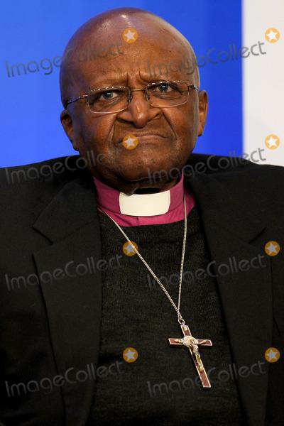 Desmond Tutu Photo - Desmond Tutu speaks at the Clinton Global Initiative on Sept 20 2011 New York City