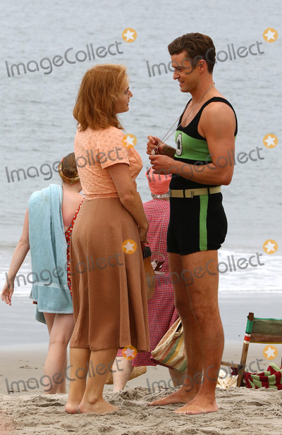 Kate Winslet Photo - September 19 2016 New York CityActors Kate Winslet and Justin Timberlake were on the set of the new Woody Allen movie project on an New York beach on September 19 2016 in New York CityBy Line Zelig ShaulACE PicturesACE Pictures IncTel 6467670430