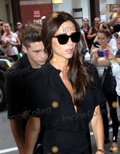 Brooklyn Beckham Photo - September 13 2015 New York CityVictoria Beckham and her son Brooklyn Beckham visit a restauarnt in Soho following her Spring Summer presentation during NYFW on September 13 2015 in New York CityBy Line Zelig ShaulACE PicturesACE Pictures Inctel 646 769 0430