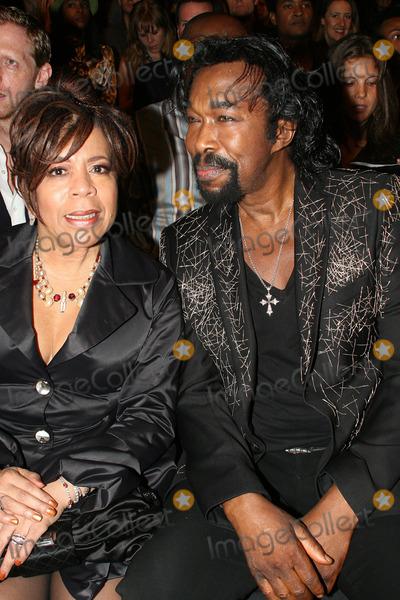 Nickolas Ashford Photo - Songwriterproducers Nickolas Ashford and Valerie Simpson attends Mercedes Benz Spring 2010 Fashion Week at Bryant Park on September 11 2009 in New York