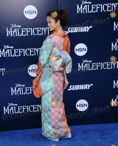 Aya Ueto Photo - May 28 2014 LAAya Ueto arriving at the World Premiere Of Disneys Maleficent at the El Capitan Theatre on May 28 2014 in Hollywood California