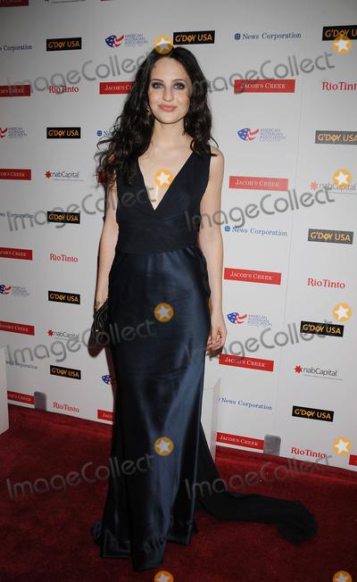 Alexandra Bard Photo - Actress Alexandra Bard attending The Australia Week 2009 Jacobs Creek Black Tie Gala on January 23 2009 in New York City