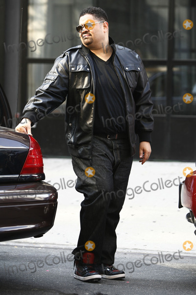 Heavy D Photo - Rapper Heavy D pictured here as part of the cast of Law and Order SVU which he filmed in Manhattan in September 2011 died of a suspected heart attack on November 8 2011 in LA
