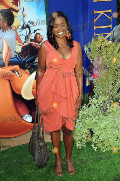 Niketa Calame Photo - Niketa Calame arriving at the The Lion King 3d premiere at the El Capitan Theatre on August 27 2011 in Hollywood California