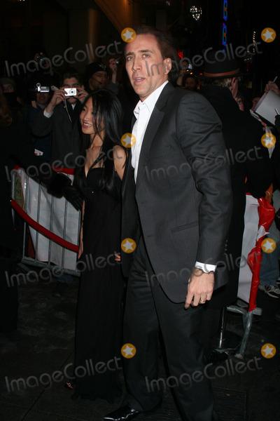 Alice Kim Photo - Nicolas Cage and wife Alice Kim attend the Ghost Rider Premiere
