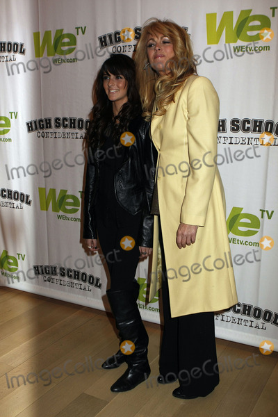 Ali Lohan Photo - Actress Ali Lohan and her mother Dina Lohan attend the High School Confidential premiere at The Times Center