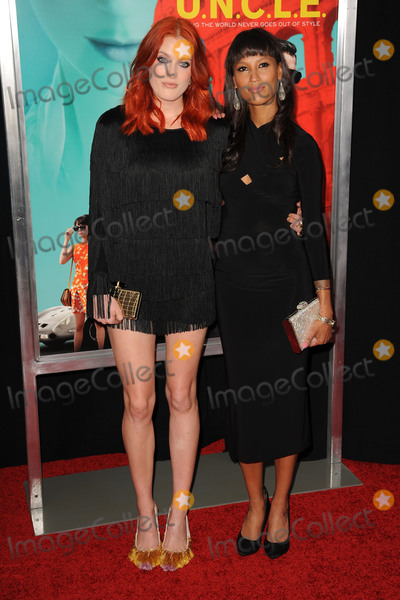 Aino Jawo Photo - August 10 2015 New York CityIcona Pop Caroline Hjelt Aino Jawo attending the New York Premiere for The Man From UNCLE at Ziegfeld Theater on August 10 2015 in New York CityCredit Kristin CallahanACE Tel (646) 769 0430