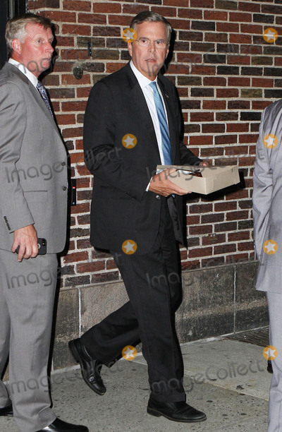 Jeb Bush Photo - September 8 2015 New York CityJeb Bush made an appearance at The Late Show with Stephen Colbert on September 8 2015 in New York CityBy Line Nancy RiveraACE PicturesACE Pictures Inctel 646 769 0430
