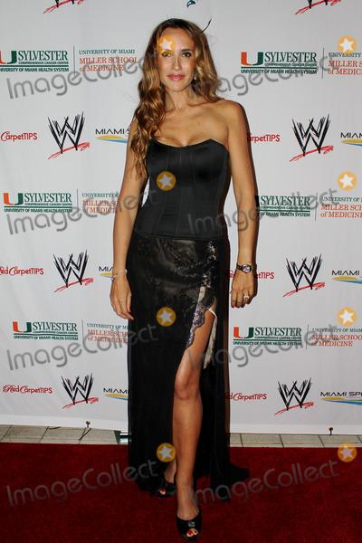 Angelica Castro Photo - Angelica Castro arriving at the  WrestleMania Premiere party on March 29 2012 in Miami Beach Florida