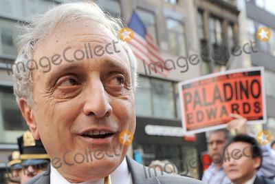 CARL PALADINO Photo - Carl Paladino  walking in the 66h Annual Columbus Day Parade on October 11 2010 in New York City