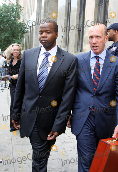 Kenneth Thompson Photo - Attorneys Kenneth P Thompson (L) and Douglas H Wigdor of Thompson Wigdor LLP who are representing the victim in the sex case against Dominique Strauss-Kahn outside the Manhattan Criminal Court Building on June 6 2011 in New York City