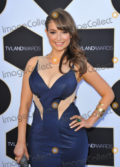 Milana Vayntrub Photo - April 11 2015 LAMilana Vayntrub attending the 2015 TV LAND Awards at Saban Theatre on April 11 2015 in Beverly Hills California By Line Peter WestACE PicturesACE Pictures Inctel 646 769 0430