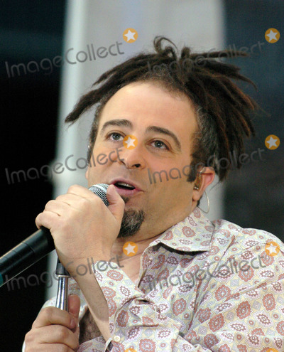 Adam Duritz Photo - Singer Adam Duritz and his band Counting Crows performed live at the Rockefeller Plaza today The performance was part of the 2004 Today Show Toyota Summer Concert Series