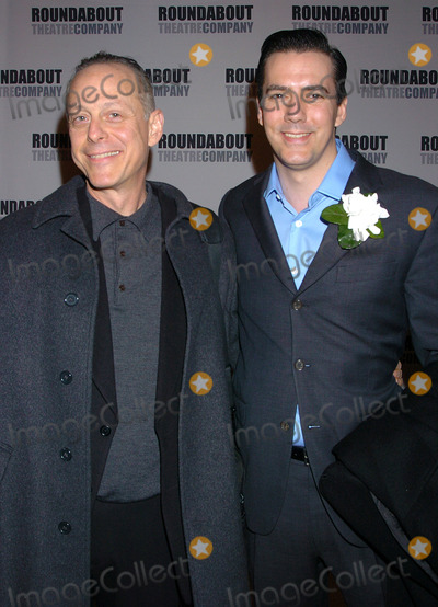 Adam Trese Photo - NEW YORK OCTOBER 28 2004    Adam Trese and Mark Blum attend the Roundabout Theatre Companys production of Twelve Angry Men