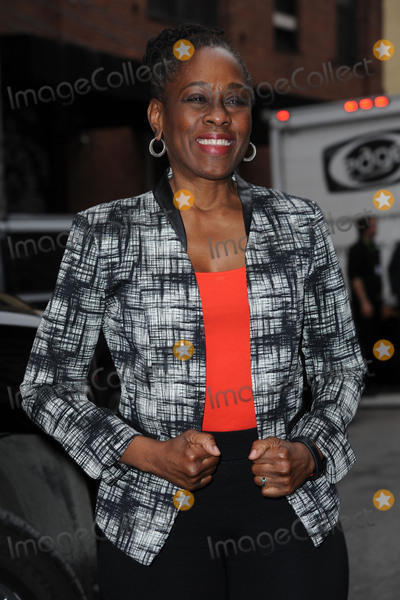 Chirlane McCray Photo - February 17 2016 New York CityChirlane McCray arriving to attend the DKNY Fashion Show in New York City on February 17 2016Credit Kristin CallahanACE Picturestel 646 769 0430