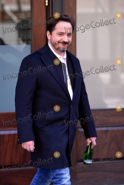 Ben Falcone Photo - April 5 2016 New York CityActor Ben Falcone who is married to actress Melissa McCarthy leaves a downtown hotel on April 5 2016 in New York CityBy Line Curtis MeansACE PicturesACE Pictures Inctel 646 769 0430