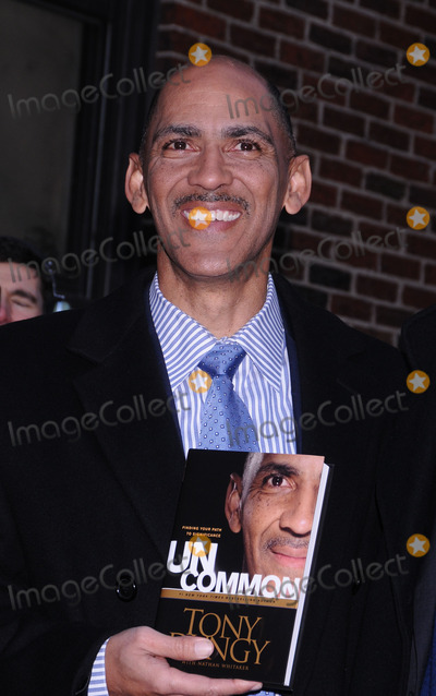 Tony Dungy Photo - Former professional football coach Tony Dungy made an appearance at the Late Show with David Letterman at the Ed Sullivan Theater on January 29 2009 in New York City