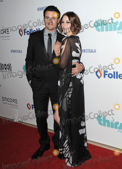 Nathan West Photo - June 30 2015 LANathan West and Chyler Leigh arriving at the 6th Annual Thirst Gala at The Beverly Hilton Hotel on June 30 2015 in Beverly Hills CaliforniaBy Line Peter WestACE PicturesACE Pictures Inctel 646 769 0430