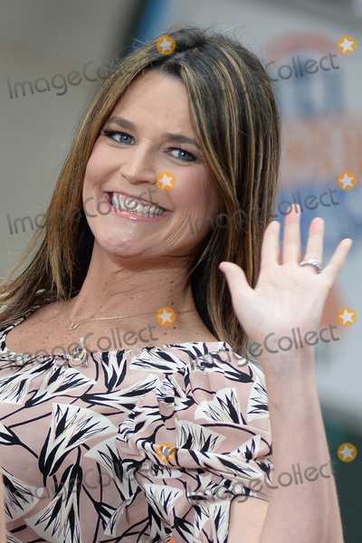 Savannah Guthrie Photo - June 21 2016 New York CitySavannah Guthrie on NBCs Today at Rockefeller Plaza on June 21 2016 in New York City Credit Kristin CallahanACE PicturesTel (646) 769 0430