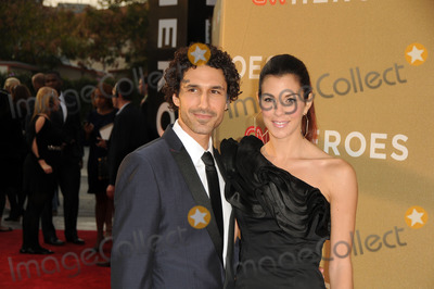 Jenna Morasca Photo - Actor Ethan Zothn (L) and actress Jenna Morasca arriving at 2011 CNN Heroes An All-Star Tribute at The Shrine Auditorium on December 11 2011 in Los Angeles California