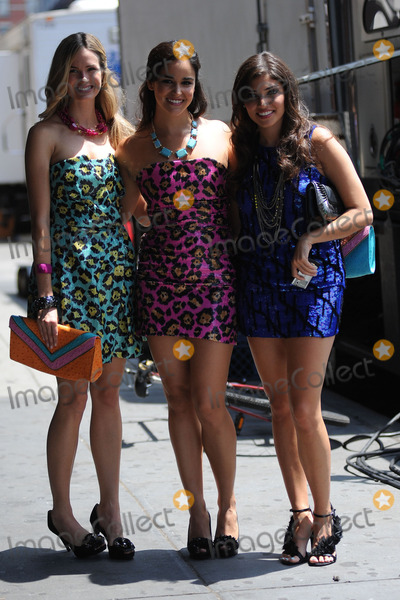 Alice Callahan Photo - Alice Callahan (L) and Amanda Setton (R) on the Meat packing District set of the TV show Gossip Girl on July 15 2010 in New York City