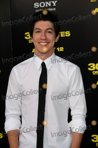 Jared Kusnitz Photo - Actor Jared Kusnitz arriving at the premiere of  30 Minutes Or Less at Graumans Chinese Theatre on August 8 2011 in Hollywood California