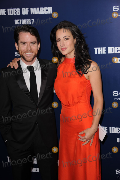 America Olivo Photo - Christian Campbell and America Olivo  attends the premiere of The Ides of March at the Ziegfeld Theater on October 5 2011 in New York City