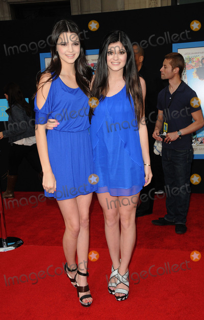 KYLIE KARDASHIAN Photo - Television personalities (L-R) Kendall Kardashian and Kylie Kardashian arriving at the premiere of Walt Disney Pictures Prom at the El Capitan on April 21 2011 in Los Angeles CA