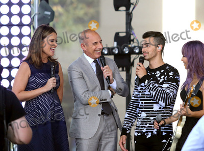 Matt Lauer Photo - August 26 2016 New York CitySavannah Guthrie and Matt Lauer talk to Joe Jonas of the band DNCE on NBCs Today show at the Rockefeller Plaza on August 26 2016 in New York City By Line Serena XuACE PicturesACE Pictures IncTel 6467670430