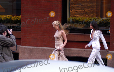 Alexandra Shiva Photo - Celebrities in town for the wedding of Alexandra Shiva and Jonathan Sherman Pictured Portia De Rossi and partner New York May 17 2003