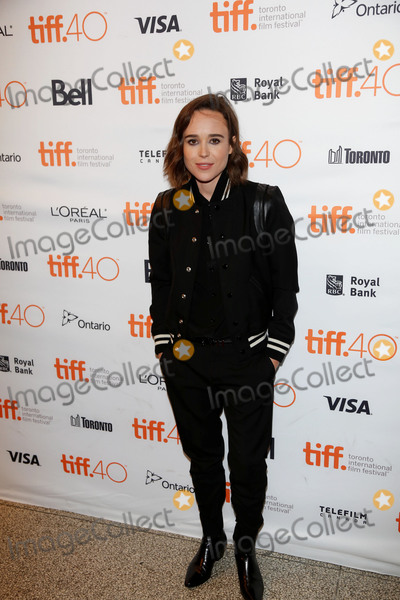 Ellen Page Photo - September 12 2015 Toronto CanadaEllen Page arriving at the premiere of Into The Forest  during t the Toronto Film Festival on September 12 2015 at Elgin Theatre in Toronto CanadaPlease byline FamousACE PicturesACE Pictures Inc Tel 646 769 0430