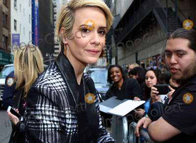 Ed Sullivan Photo - March 31 2016 New York CityActress Sarah Paulson made an appreanace at The Late Show With Stephen Colbert at the Ed Sullivan Theater on March 31 2016 in New York CityBy Line Nancy RiveraACE PicturesACE Pictures Inctel 646 769 0430