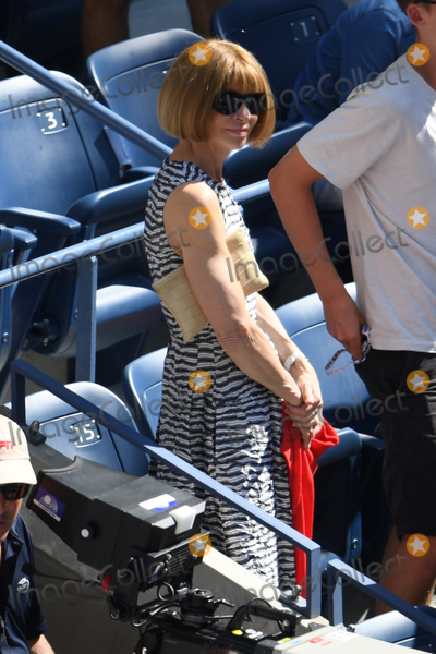 Anna Wintour Photo - September 4 2016 New York CityJournalist Anna Wintour spectates at Day Seven of the 2016 US Open at the USTA Billie Jean King National Tennis Center on September 3 2016 in New York CityBy Line SolarACE PicturesACE Pictures IncTel 6467670430