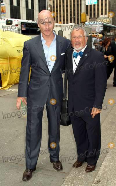 Peter Arnold Photo - Council of Fashion Designers of America Executive Director Peter Arnold and Stan Herman arrives at Bryant Park for Carolina Herrera show during New York Fashion Week New York September 18 2002