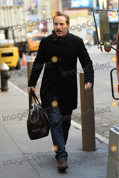 Alessandro Nivola Photo - January 21 2015 New York CityAlessandro Nivola arrives to perform in The Elephant Man on Broadway at the Booth Theatre on January 21 2015 in New York CityPlease byline Kristin CallahanAcePicturesACEPIXSCOMTel (646) 769 0430