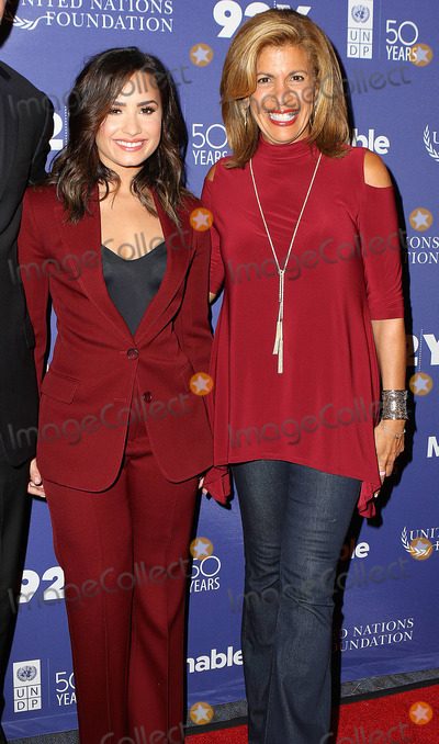 HODA KOTBE Photo - September 19 2016 New York CitySinger Demi Lovato and Hoda Kotb attending the 2016 Social Good Summit at 92Y on September 19 2016 in New York CityBy Line Nancy RiveraACE PicturesACE Pictures IncTel 6467670430