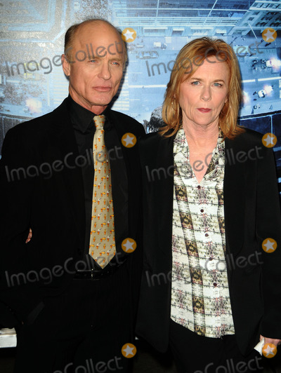Amy Madigan Photo - January 23 2012 LAEd Harris and Amy Madigan arriving at the premiere of  Man On A Ledge at Graumans Chinese Theatre on January 23 2012 in Hollywood California