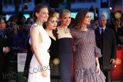 Anne-Marie Duff Photo - October 7 2015 LondonRomola Garai Helena Bonham Carter Anne-Marie Duff and Carey Mulligan attending the premiere of Suffragette during the BFI London Film Festival at the Odeon Leicester Square on October 7 2015 in LondonBy Line FamousACE PicturesACE Pictures Inctel 646 769 0430
