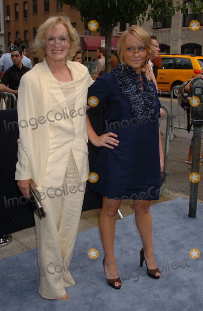 Annie Starke Photo - Glenn Close and daughter Annie Maude Starke arriving at the Focus Features premiere of Evening hosted by Donna Karan and The Cinema Society at the Chelsea Clearview West Cinema