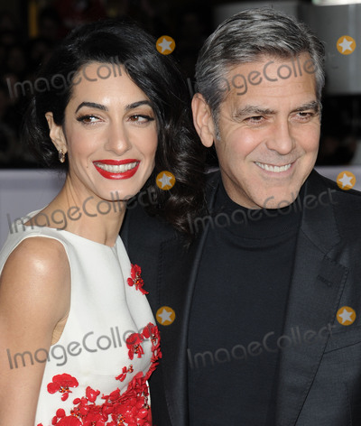 Amal Clooney Photo - February 1 2016 LAActor George Clooney (R) and his wife Amal Clooney arriving at the premiere of Hail Caesar at the Regency Village Theatre on February 1 2016 in Westwood California By Line Peter WestACE PicturesACE Pictures Inctel 646 769 0430