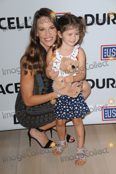 HILLARY SWANK Photo - July 2 2015 New York CityHilary Swank joins Duracell at the premiere of their new film supporting the USO at TimesCenter on July 2 2015 in New York CityCredit Kristin CallahanACE PicturesTel 646 769 0430
