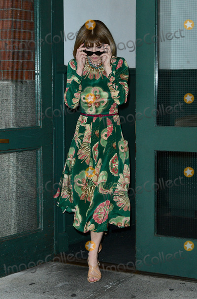 Anna Wintour Photo - July 19 2016 New York CityAnna Wintour leaves an office in Tribeca on July 19 2016 in New York CityBy Line Curtis MeansACE PicturesACE Pictures IncTel 6467670430