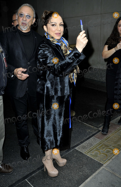 Emilio Estefan Photo - April 13 2015 New York CityMusicians Gloria Estefan and Emilio Estefan (L)  leave the studios of The Today Show on April 13 2015 in New York CityBy Line Curtis MeansACE PicturesACE Pictures Inctel 646 769 0430