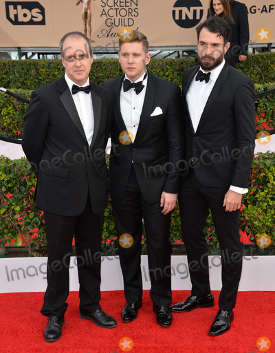 Allen Leech Photo - Actors Kevin Doyle Allen Leech  Tom Cullen - Downton Abbey - at the 22nd Annual Screen Actors Guild Awards at the Shrine Auditorium January 30 2016  Los Angeles CAPicture Paul Smith  Featureflash