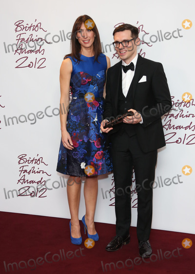 Erdem Moralioglu Photo - Samantha Cameron and Erdem Moralioglu in the press room for The British Fashion Awards 2012 held at The Savoy London 27112012 Picture by Henry Harris  Featureflash