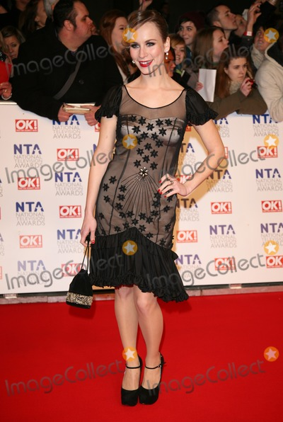 Holly Weston Photo - Holly Weston arriving for the National Television Awards O2 London 25012012 Picture by Alexandra Glen  Featureflash